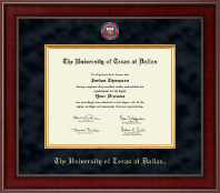 The University of Texas at Dallas Diploma Frame - Presidential Masterpiece Diploma Frame in Jefferson