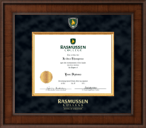 Rasmussen College Diploma Frame - Presidential Masterpiece Diploma Frame in Madison