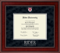 Rider University Diploma Frame - Presidential Masterpiece Diploma Frame in Jefferson
