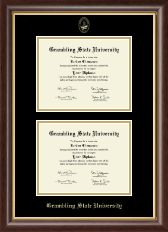Grambling State University Diploma Frame - Double Diploma Frame in Hampshire