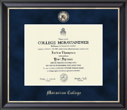 Moravian College Diploma Frame - Regal Edition Diploma Frame in Noir