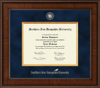 Southern New Hampshire University Diploma Frame - Presidential Masterpiece Diploma Frame in Madison