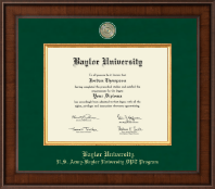 Baylor University Diploma Frame - Presidential Masterpiece Diploma Frame in Madison