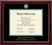 Baylor University Diploma Frame - Masterpiece Medallion Diploma Frame in Gallery