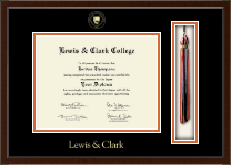 Lewis & Clark College Diploma Frame - Tassel Edition Diploma Frame in Delta