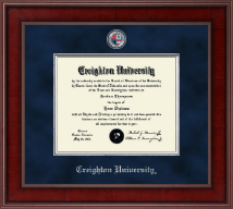 Creighton University Diploma Frame - Presidential Masterpiece Diploma Frame in Jefferson