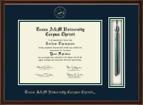 Texas A&M University Corpus Christi Diploma Frame - Tassel Edition Diploma Frame in Delta