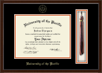University of the Pacific Diploma Frame - Tassel Edition Diploma Frame in Delta