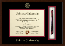 Indiana University Bloomington Diploma Frame - Tassel Edition Diploma Frame in Delta