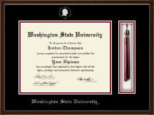 Washington State University Diploma Frame - Tassel Edition Diploma Frame in Delta