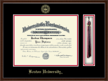 Boston University Diploma Frame - Tassel Edition Diploma Frame in Delta