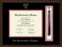 University of Tampa Diploma Frame - Tassel Edition Diploma Frame in Delta
