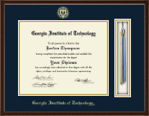 Georgia Institute of Technology Diploma Frame - Tassel Edition Diploma Frame in Delta