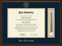 Pace University Diploma Frame - Tassel Edition Diploma Frame in Delta