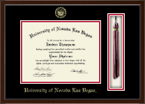 University of Nevada Las Vegas Diploma Frame - Tassel Edition Diploma Frame in Delta