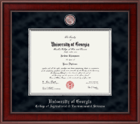 The University of Georgia Diploma Frame - Presidential Masterpiece Diploma Frame in Jefferson