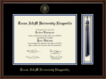 Texas A&M University Kingsville Diploma Frame - Tassel Edition Diploma Frame in Delta