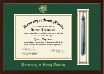 University of South Florida Diploma Frame - Tassel Edition Diploma Frame in Delta