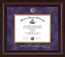 Western Illinois University Diploma Frame - Presidential Masterpiece Diploma Frame in Premier