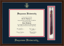 Duquesne University Diploma Frame - Tassel Edition Diploma Frame in Delta