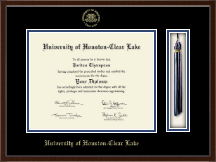 University of Houston-Clear Lake Diploma Frame - Tassel Edition Diploma Frame in Delta