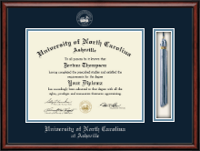 University of North Carolina Asheville Diploma Frame - Tassel Edition Diploma Frame in Southport