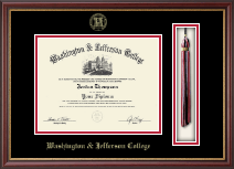 Washington & Jefferson College Diploma Frame - Tassel Edition Diploma Frame in Newport