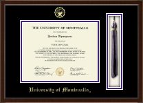 University of Montevallo Diploma Frame - Tassel Edition Diploma Frame in Delta