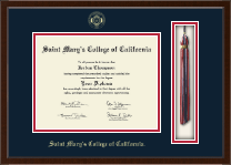Saint Mary's College of California Diploma Frame - Tassel Edition Diploma Frame in Delta