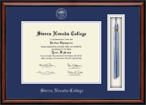Sierra Nevada College Diploma Frame - Tassel Edition Diploma Frame in Southport
