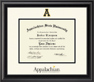 Appalachian State University Diploma Frame - Dimensions Diploma Frame in Midnight