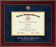 Western Michigan University Diploma Frame - Presidential Masterpiece Diploma Frame in Jefferson