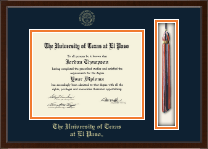 University of Texas at El Paso Diploma Frame - Tassel Edition Diploma Frame in Delta