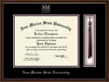New Mexico State University in Las Cruces Diploma Frame - Tassel Edition Diploma Frame in Delta