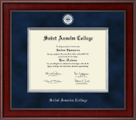 Saint Anselm College Diploma Frame - Presidential Masterpiece Diploma Frame in Jefferson