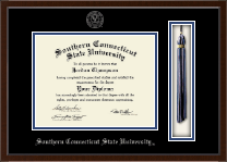 Southern Connecticut State University Diploma Frame - Tassel Edition Diploma Frame in Delta