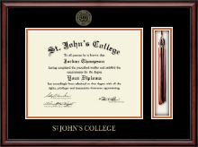 St. John's College Diploma Frame - Tassel Edition Diploma Frame in Southport