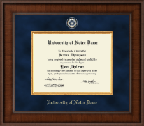 University of Notre Dame Diploma Frame - Presidential Masterpiece Diploma Frame in Madison