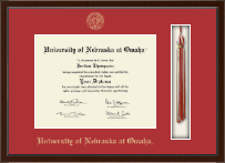 University of  Nebraska at Omaha Diploma Frame - Tassel Edition Diploma Frame in Delta