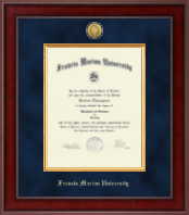 Francis Marion University Diploma Frame - Presidential Gold Engraved Diploma Frame in Jefferson