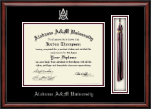 Alabama A&M University Diploma Frame - Tassel Edition Diploma Frame in Southport