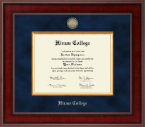 Hiram College Diploma Frame - Presidential Masterpiece Diploma Frame in Jefferson