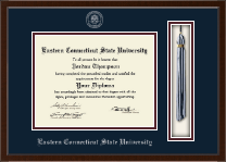 Eastern Connecticut State University Diploma Frame - Tassel Edition Diploma Frame in Delta