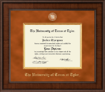 The University of Texas at Tyler Diploma Frame - Presidential Masterpiece Diploma Frame in Madison