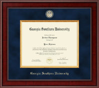 Georgia Southern University Diploma Frame - Presidential Masterpiece Diploma Frame in Jefferson