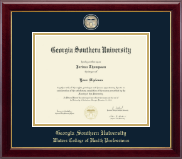 Georgia Southern University Diploma Frame - Masterpiece Medallion Diploma Frame in Gallery