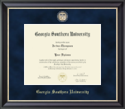 Georgia Southern University Diploma Frame - Regal Edition Diploma Frame in Noir