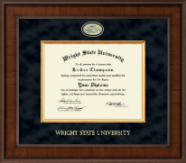 Wright State University Diploma Frame - Presidential Masterpiece Diploma Frame in Madison