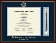 University of North Carolina Chapel Hill Diploma Frame - Tassel Edition Diploma Frame in Delta