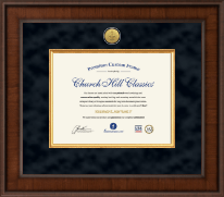 Dentistry Certificate Frames and Gifts Certificate Frame - Presidential Dental Certificate Frame in Madison